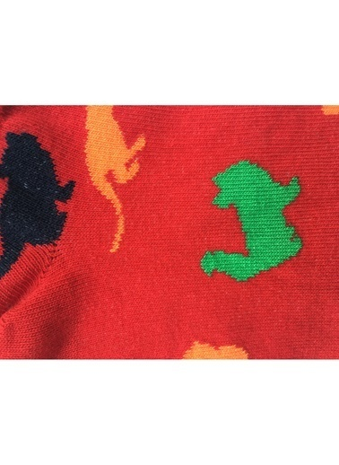 Pixter&Bro Çorap Kırmızı